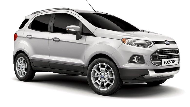 Ngoại thất xe Ford Ecosport 2017