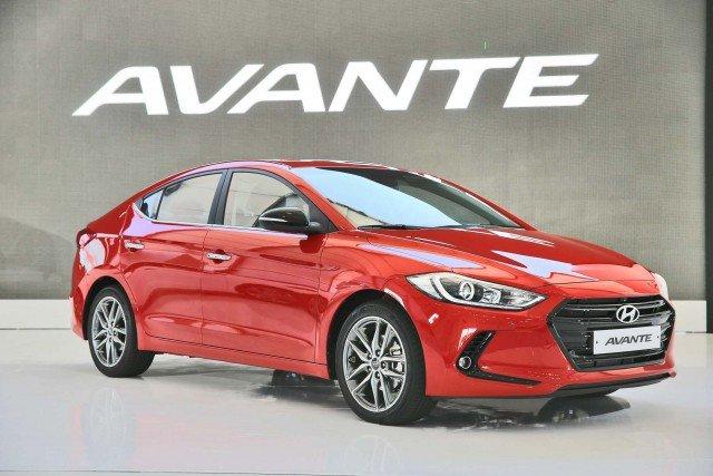 Ngoại thất Hyundai Avante