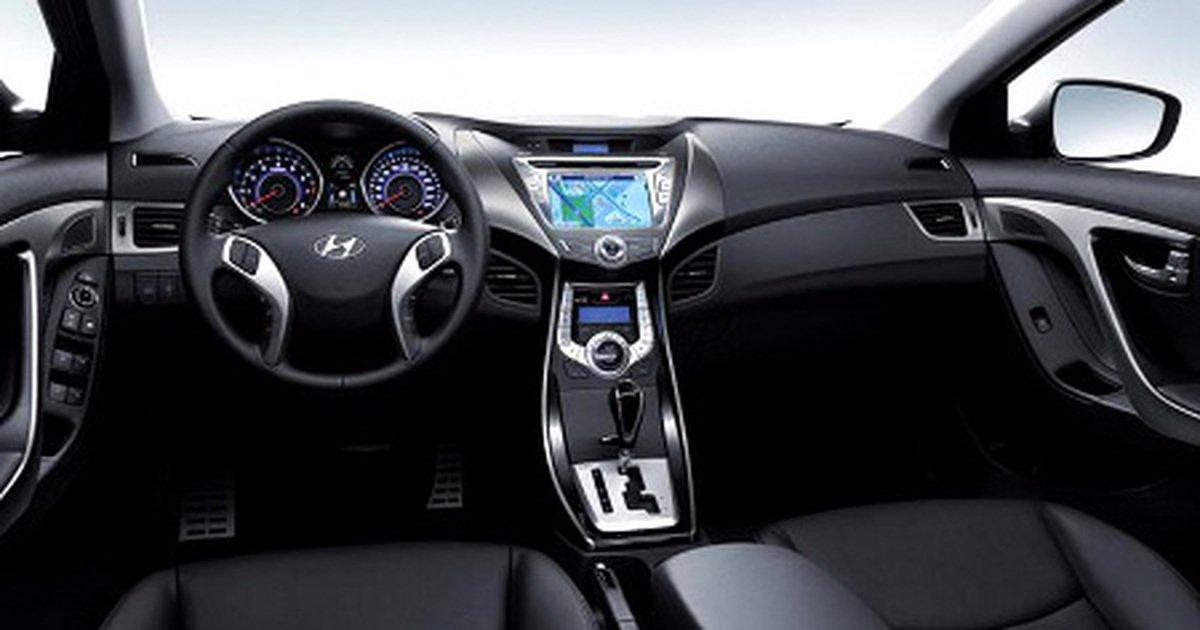 Nội thất xe Hyundai Avante