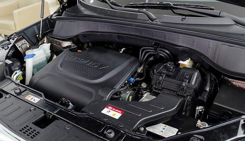 Động cơ xe Kia Sorento 2016
