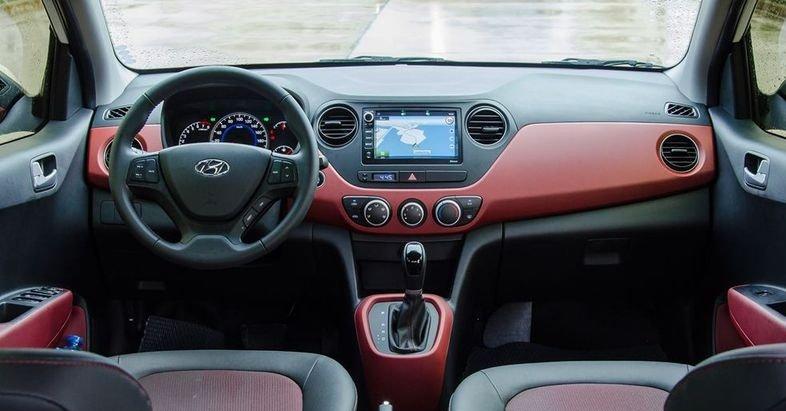 Nội thất xe Hyundai Grand i10 2018