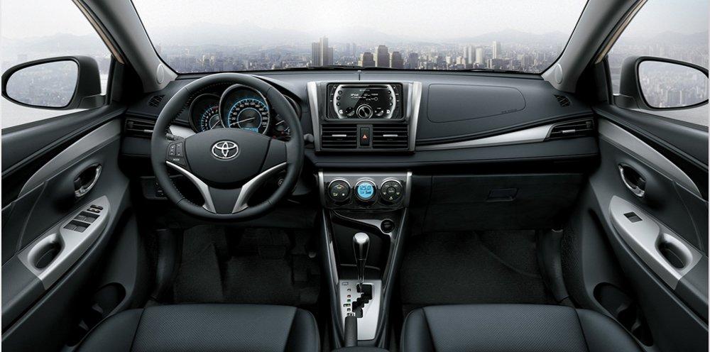 Nội thất Toyota Vios 2016