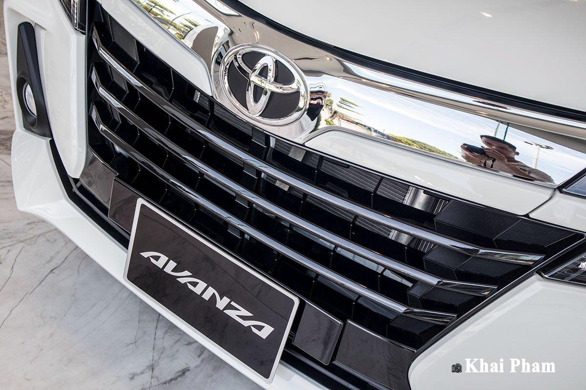 Ảnh Lưới tản nhiệt xe Toyota Avanza 2020