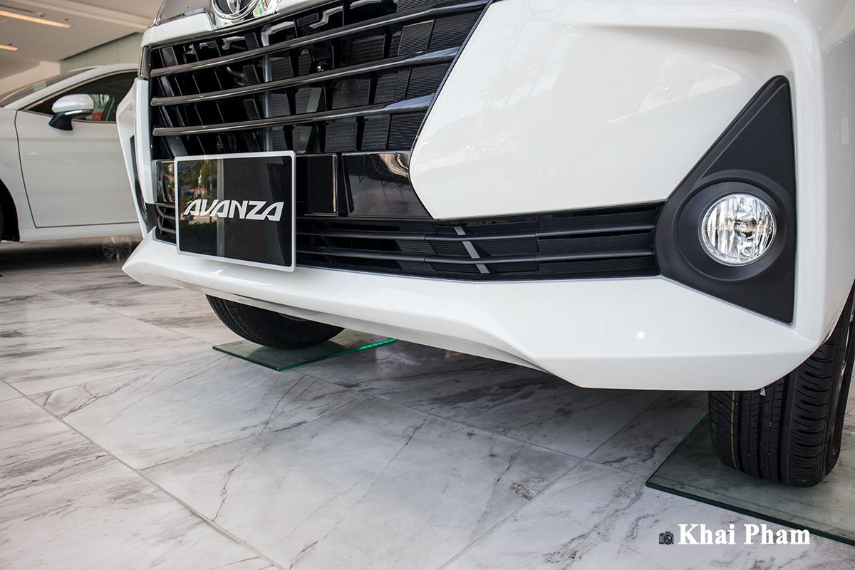 Ảnh Cản trước xe Toyota Avanza 2020 a1