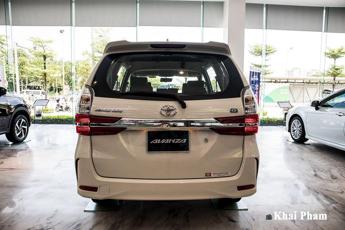 Ảnh Chính diện đuôi xe Toyota Avanza 2020