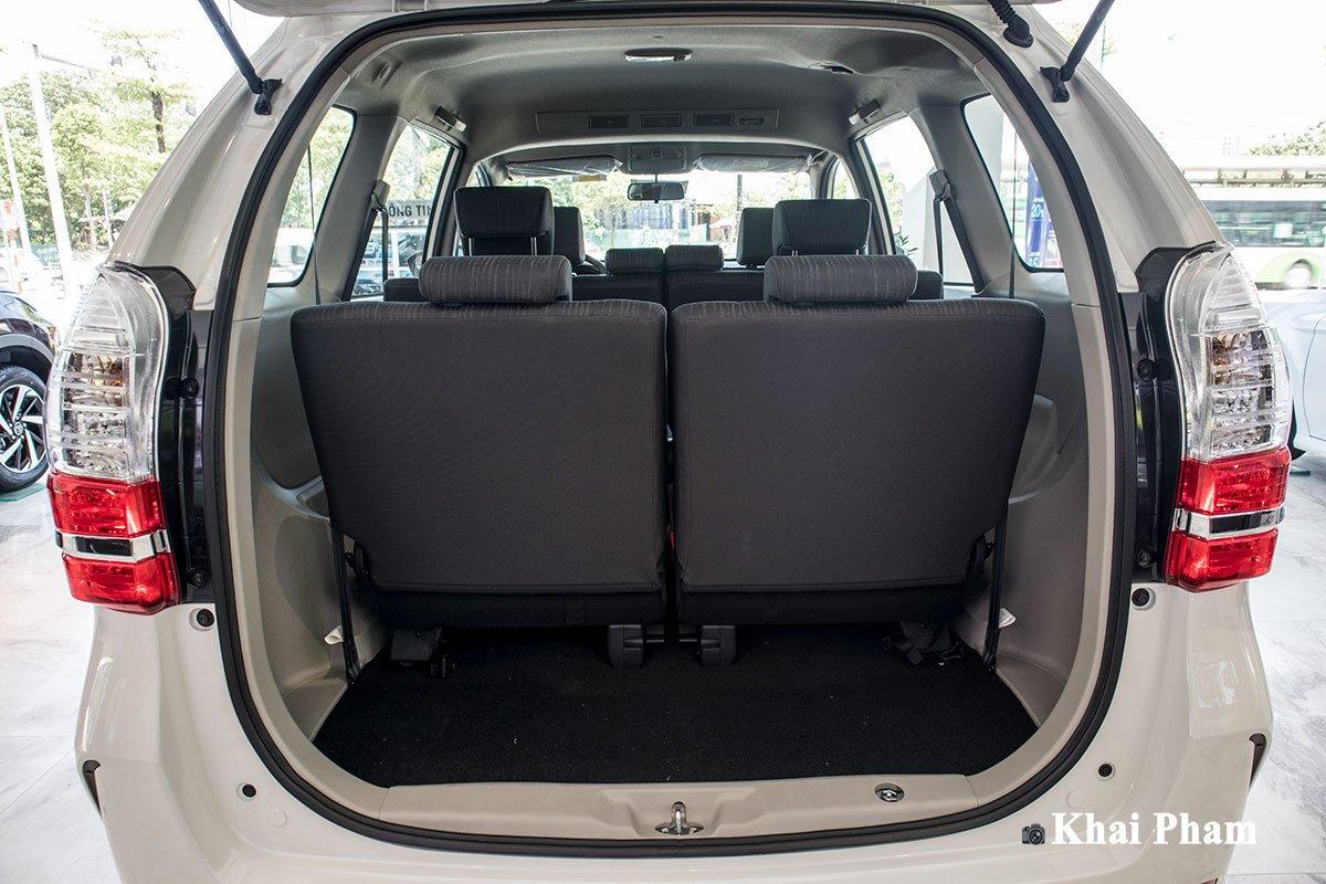 Ảnh Cốp xe Toyota Avanza 2020