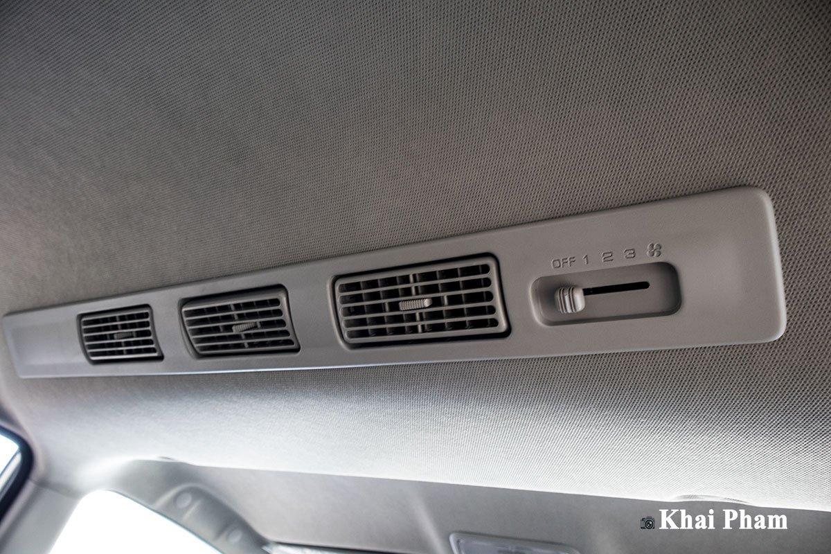 Ảnh Dàn lạnh sau xe Toyota Avanza 2020