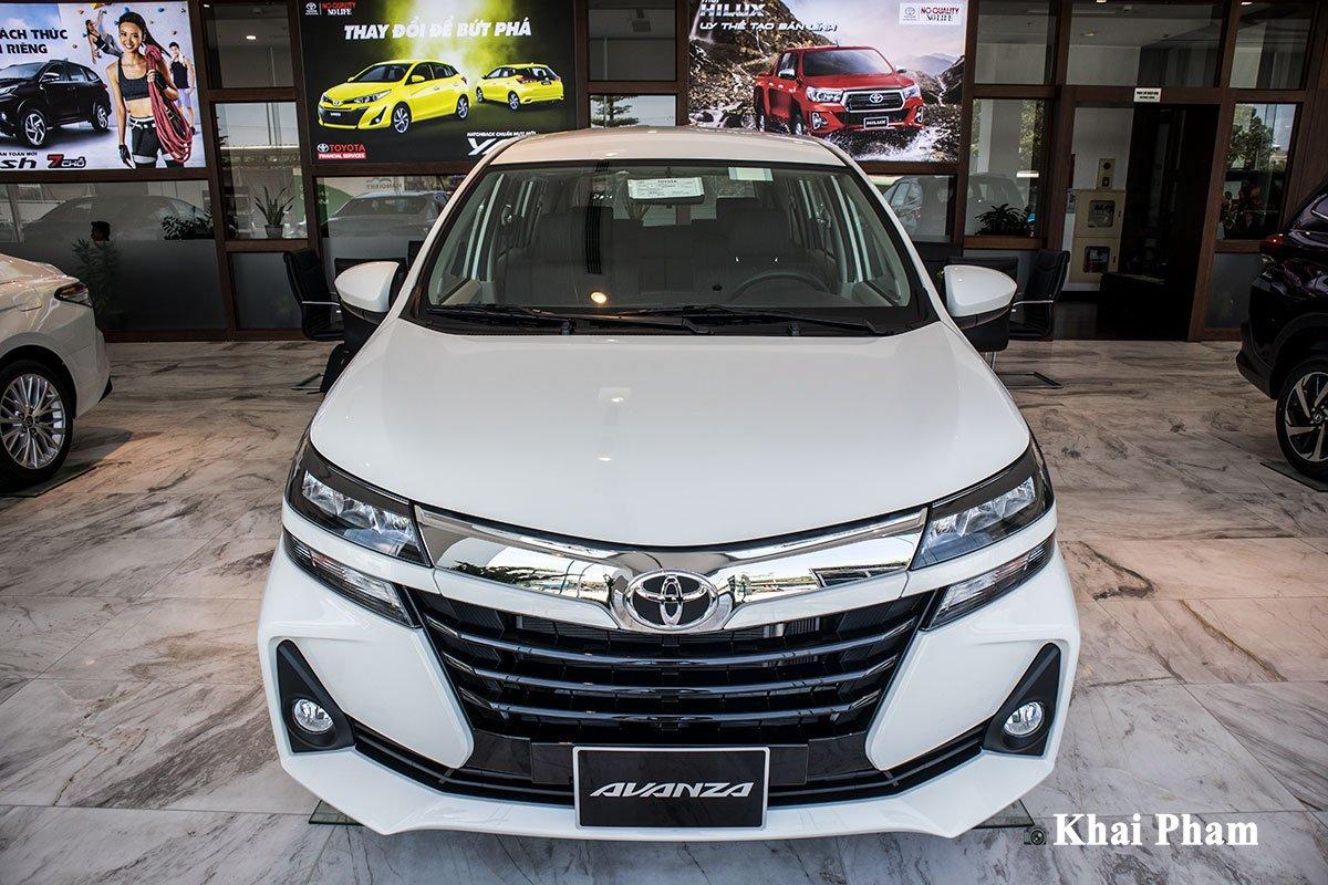 Ảnh cĐầu xe Toyota Avanza 2020