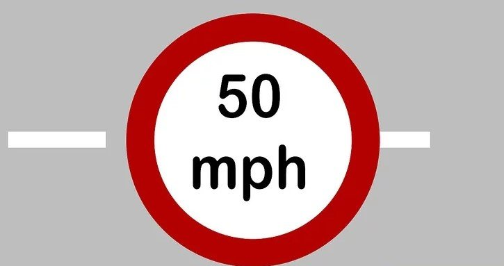Tuân thủ giới hạn tốc độ.