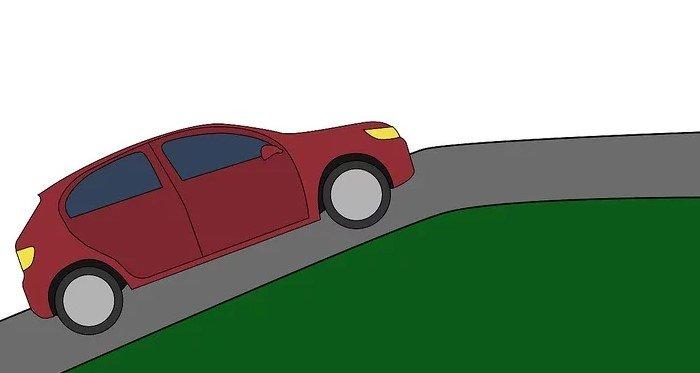 Học lái xe lên xuống dốc.