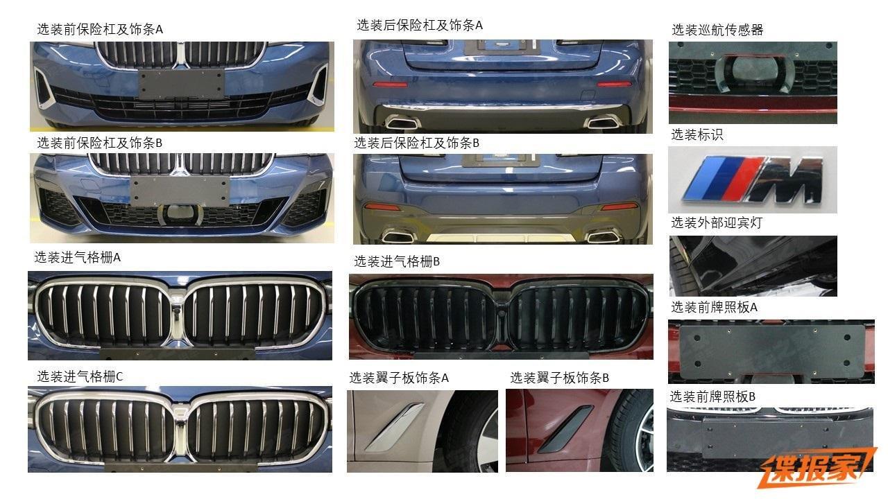 BMW 5-Series 2021 trục cơ sở kéo dài LWB mớidành cho Trung Quốc a1