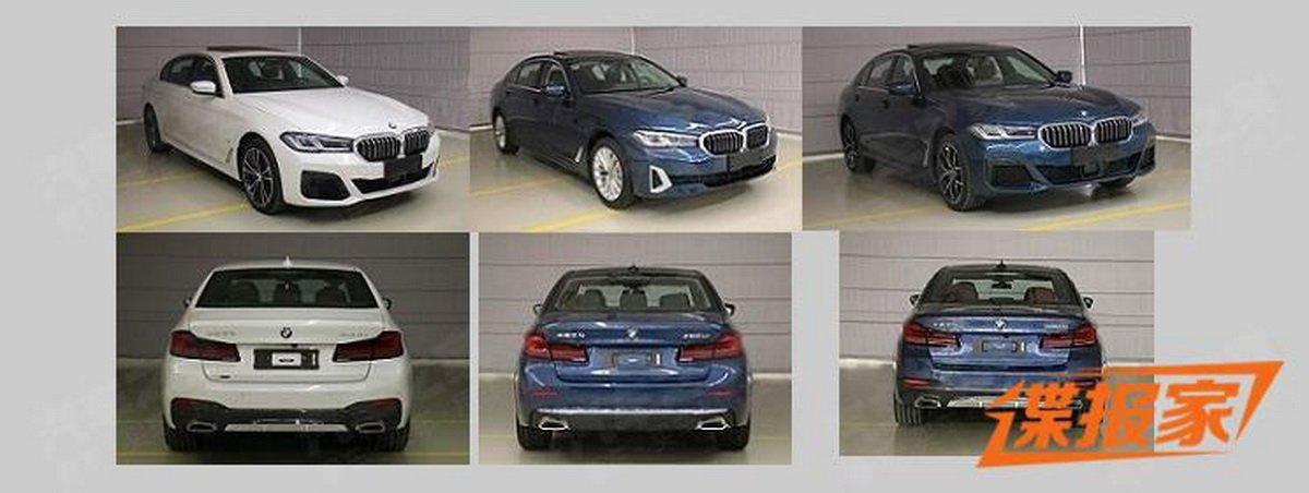 Xem trước BMW 5-Series 2021 trục cơ sở kéo dài LWB dành cho Trung Quốc...