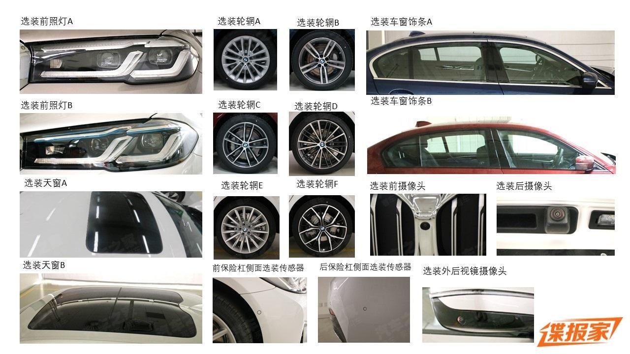 BMW 5-Series 2021 trục cơ sở kéo dài LWB mớidành cho Trung Quốc a3