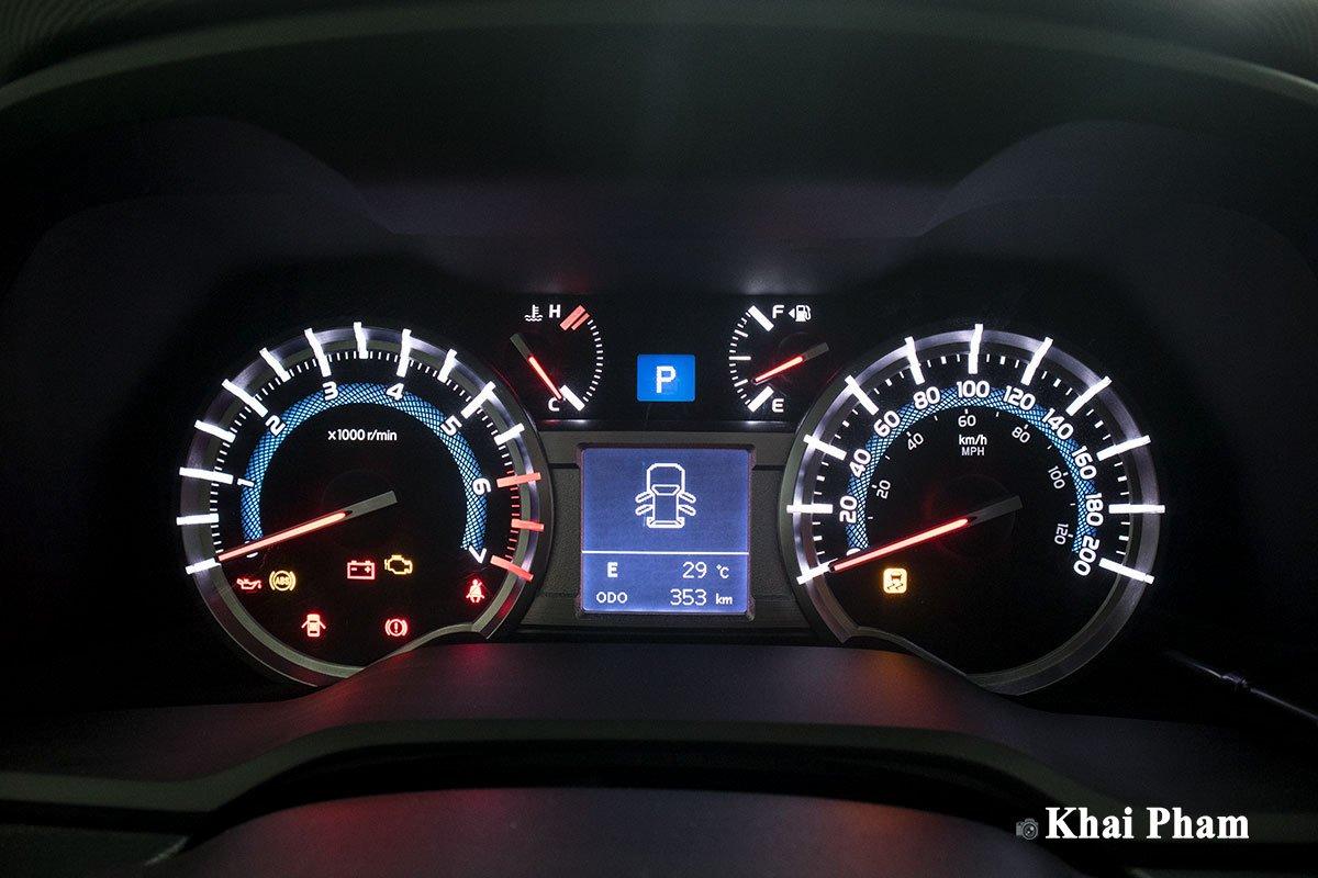 Ảnh đồng hồ xe Toyota 4Runner Limited