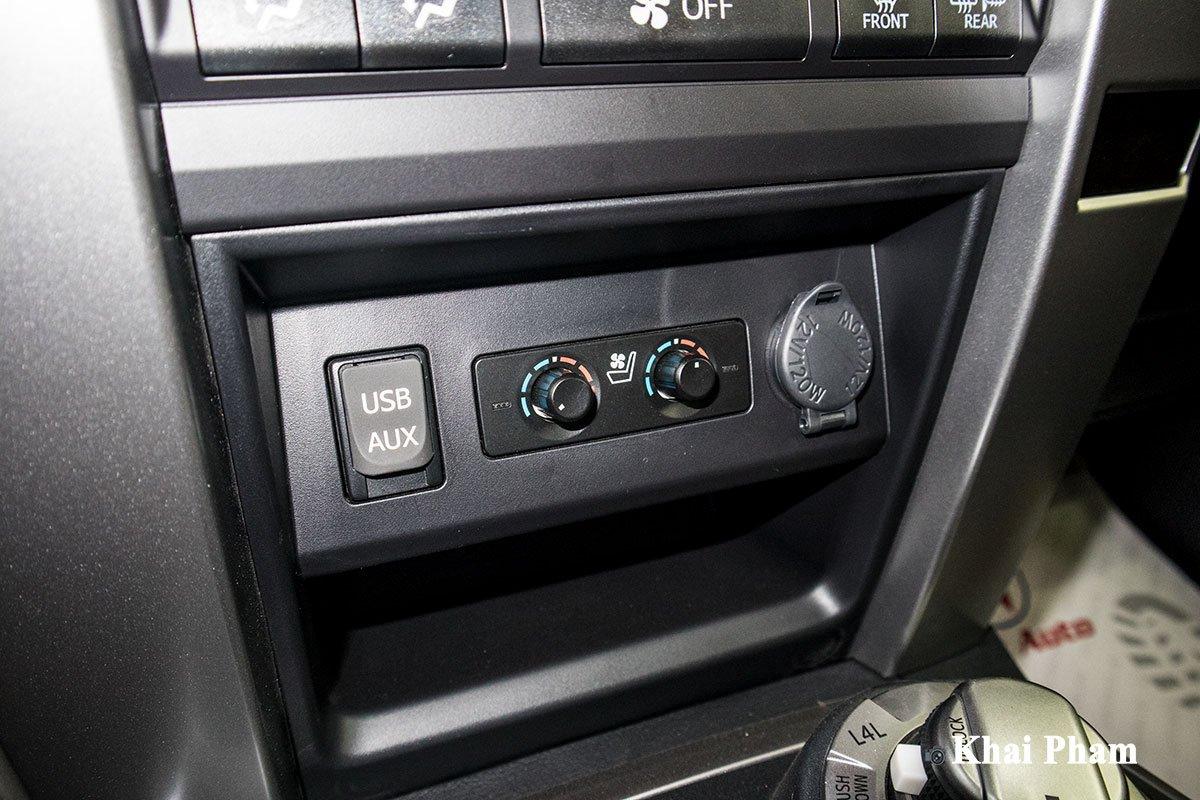 Ảnh tiện nghi xe Toyota 4Runner Limited