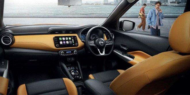 Nissan Kicks e-Power 2020 trang bị các tính năng thông minh.