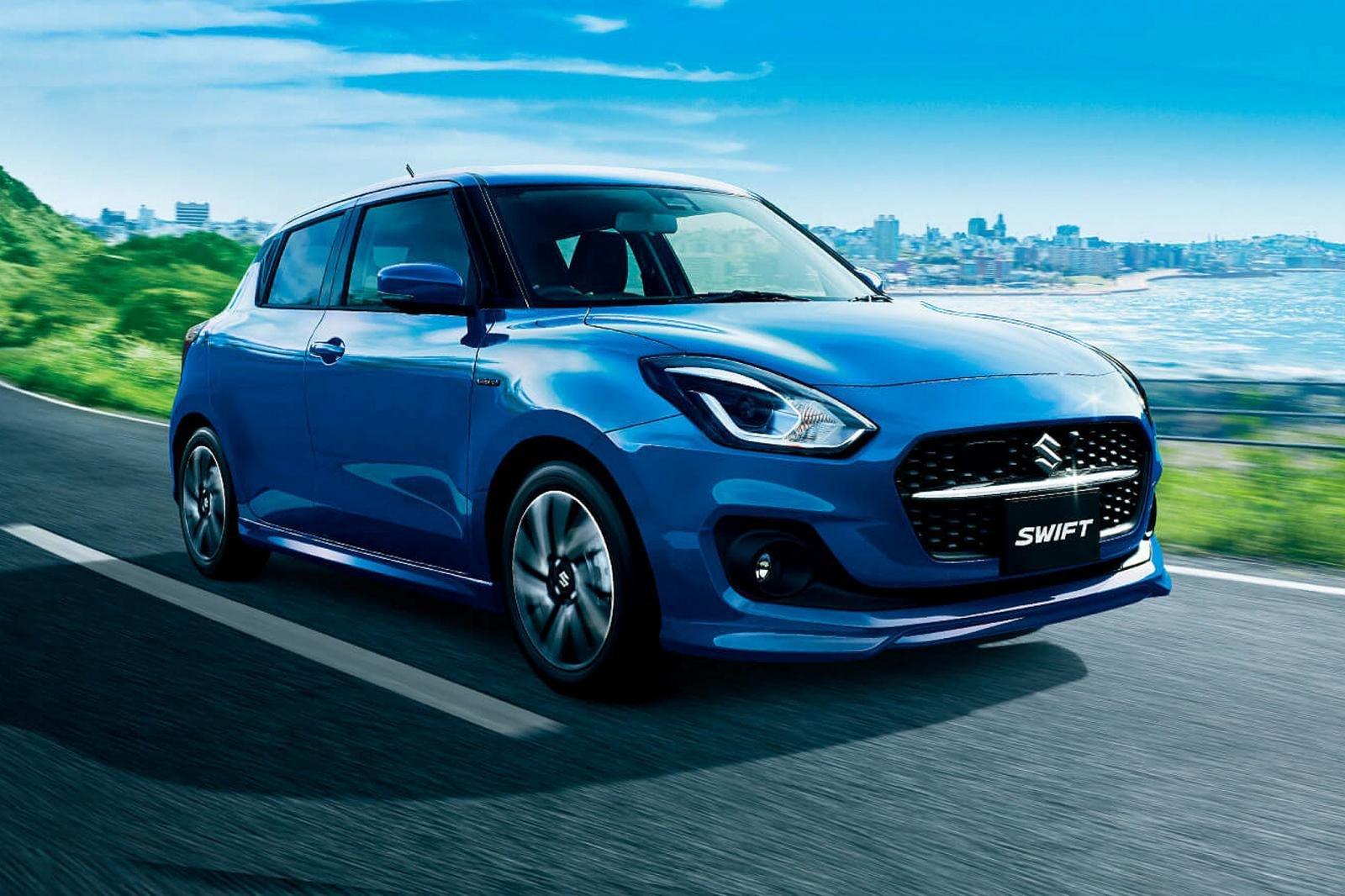 Suzuki Swift 2020 facelift nâng cấp tính năng an toàn và công nghệ.