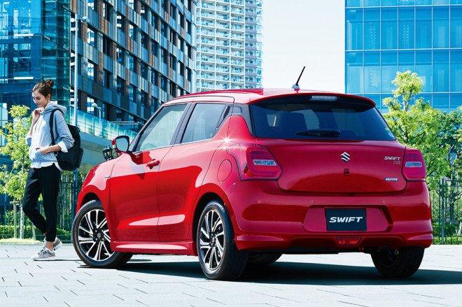 Suzuki Swift facelift nâng cấp quyến rũ hơn.