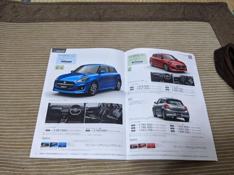 Suzuki Swift 2020 facelift đa dạng biến thể.