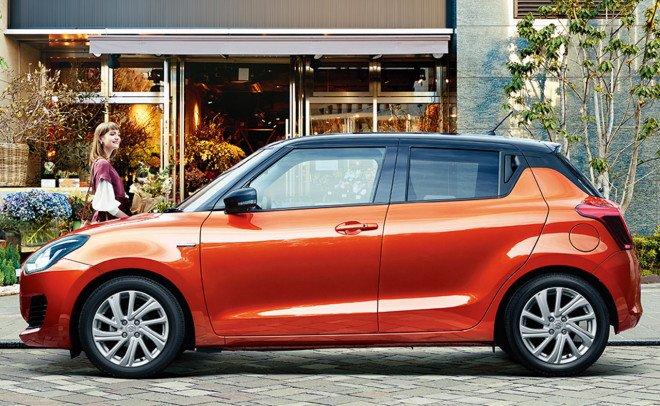 Suzuki Swift 2020 facelift tích hợp trang bị hiện đại.