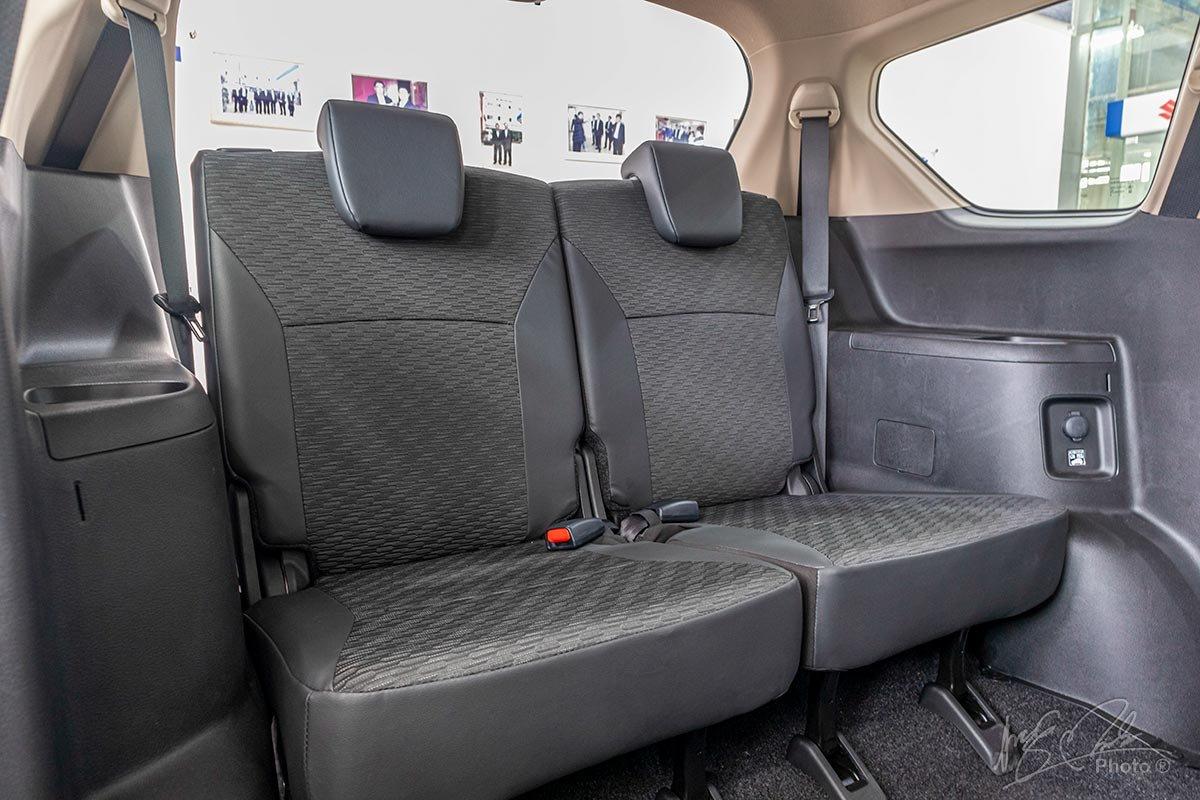 Đánh giá xe Suzuki XL7 2020: Hàng ghế thứ 3.