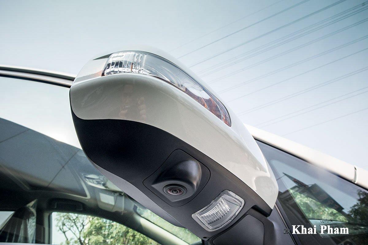 Ảnh gương xe có camera xe Toyota Sienna 2020 phải