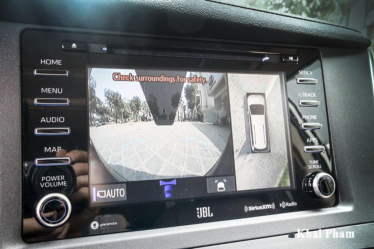Ảnh camera lùi xe Toyota Sienna 2020