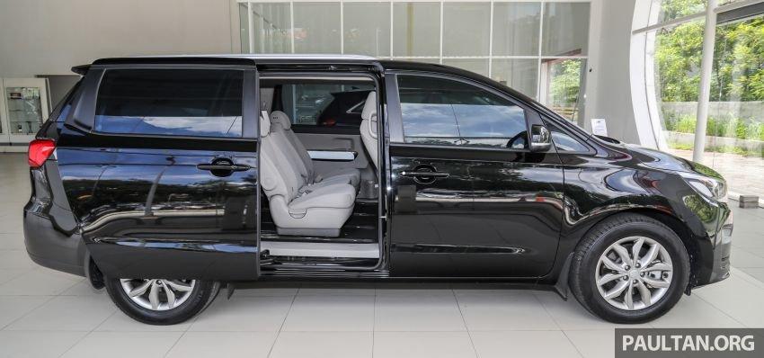 Kia Sedona 2020 bố trí ghế ngồi hợp lý.