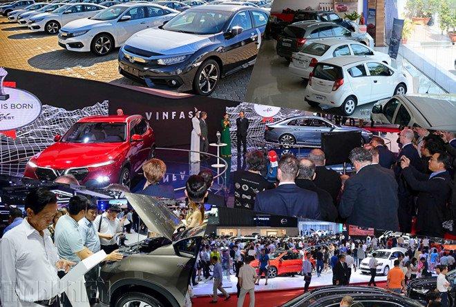 Giảm 50% phí trước bạ cho xe lắp ráp, thị trường xe cũ điêu đứng vì mua xe mới lợi hơn.