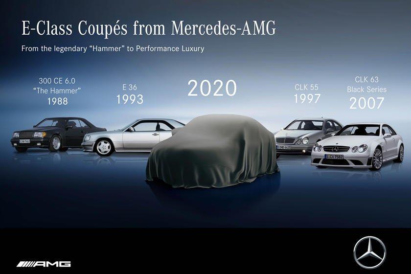 Mercedes E-Class Coupe 2021 bí ẩn.