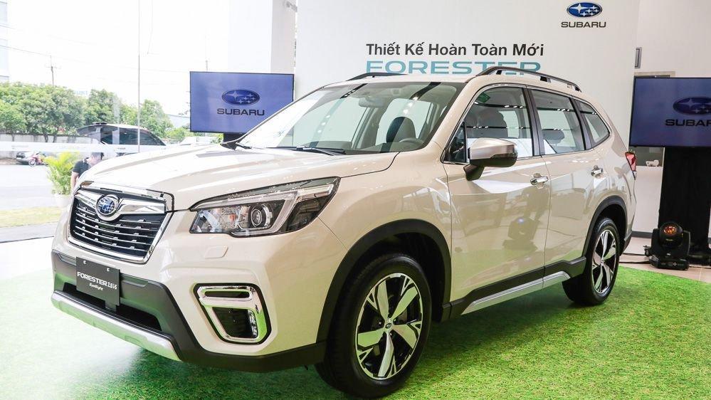 Doanh số xe Subaru Forester đóng vai trò chủ lực.