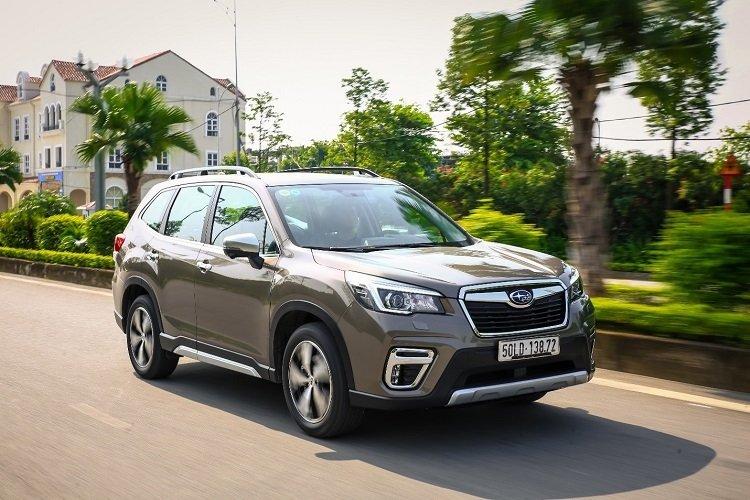 Doanh số xe Subaru tăng trưởng mạnh nhất về mảng sản xuất nội địa.