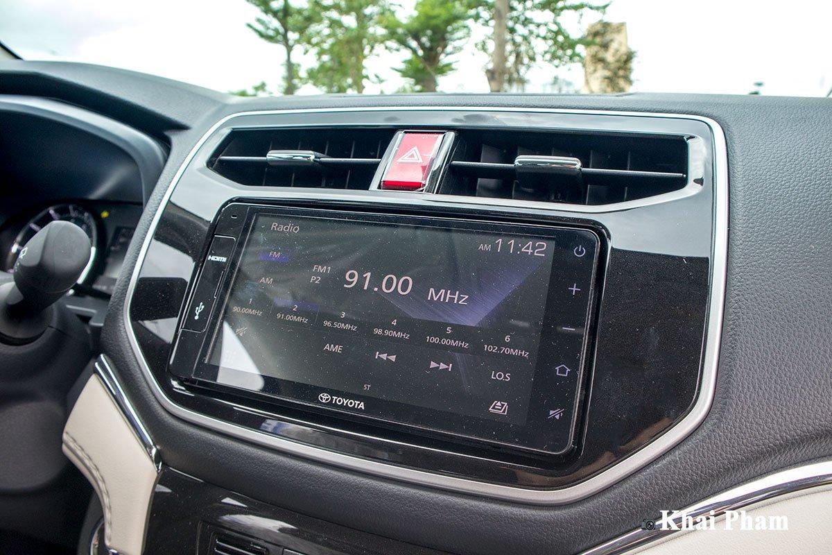 Ảnh màn hình xe Toyota Rush 2020