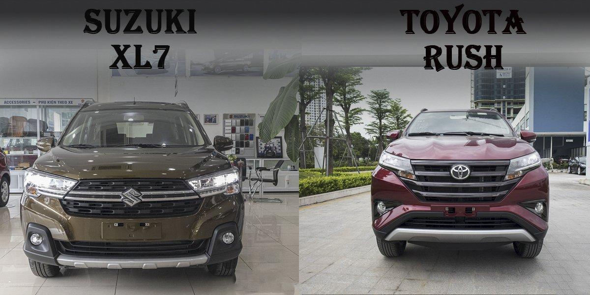 So sanh xe Suzuki XL7 2020 va Toyota Rush 2020 Gia ban co quyet dinh tat ca