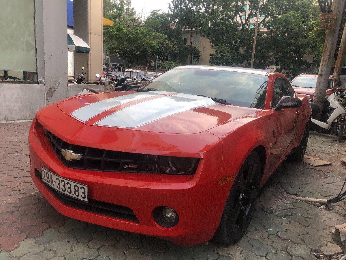 Cần bán gấp Chevrolet Camaro đời 2010, màu đỏ, nhập khẩu, 990 triệu (1)