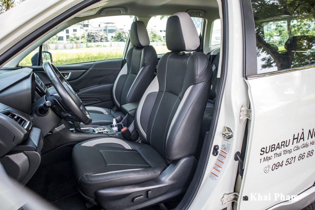 Ảnh ghế trước xe Subaru Forester GT Edition 2020