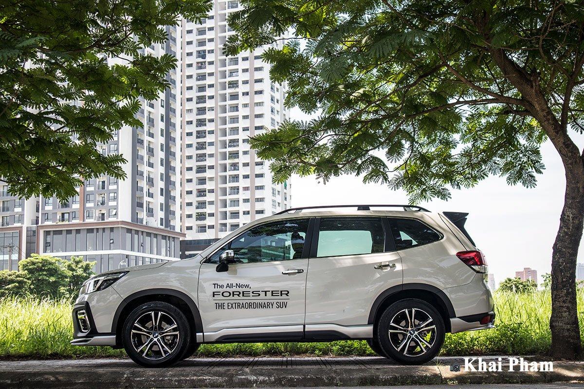 Ảnh chính diện thân xe Subaru Forester GT Edition 2020