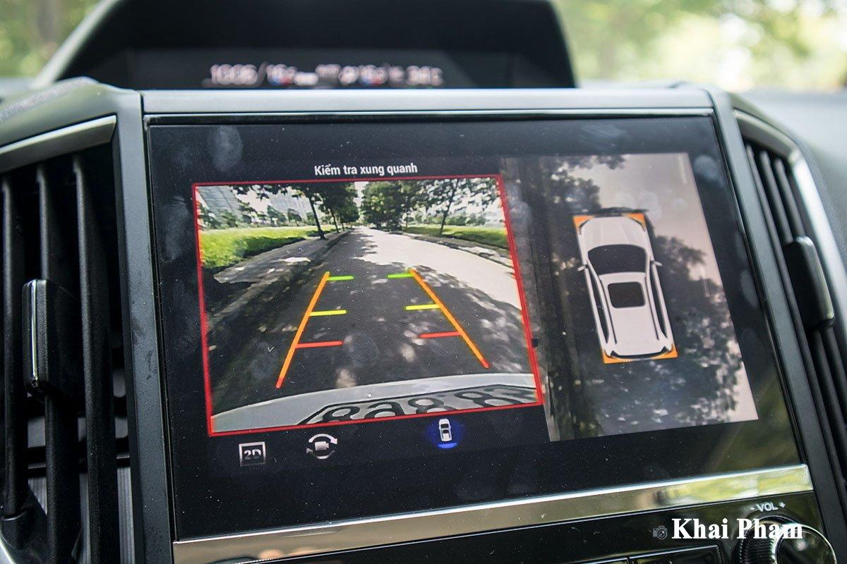 Ảnh màn hình camera xe Subaru Forester GT Edition 2020