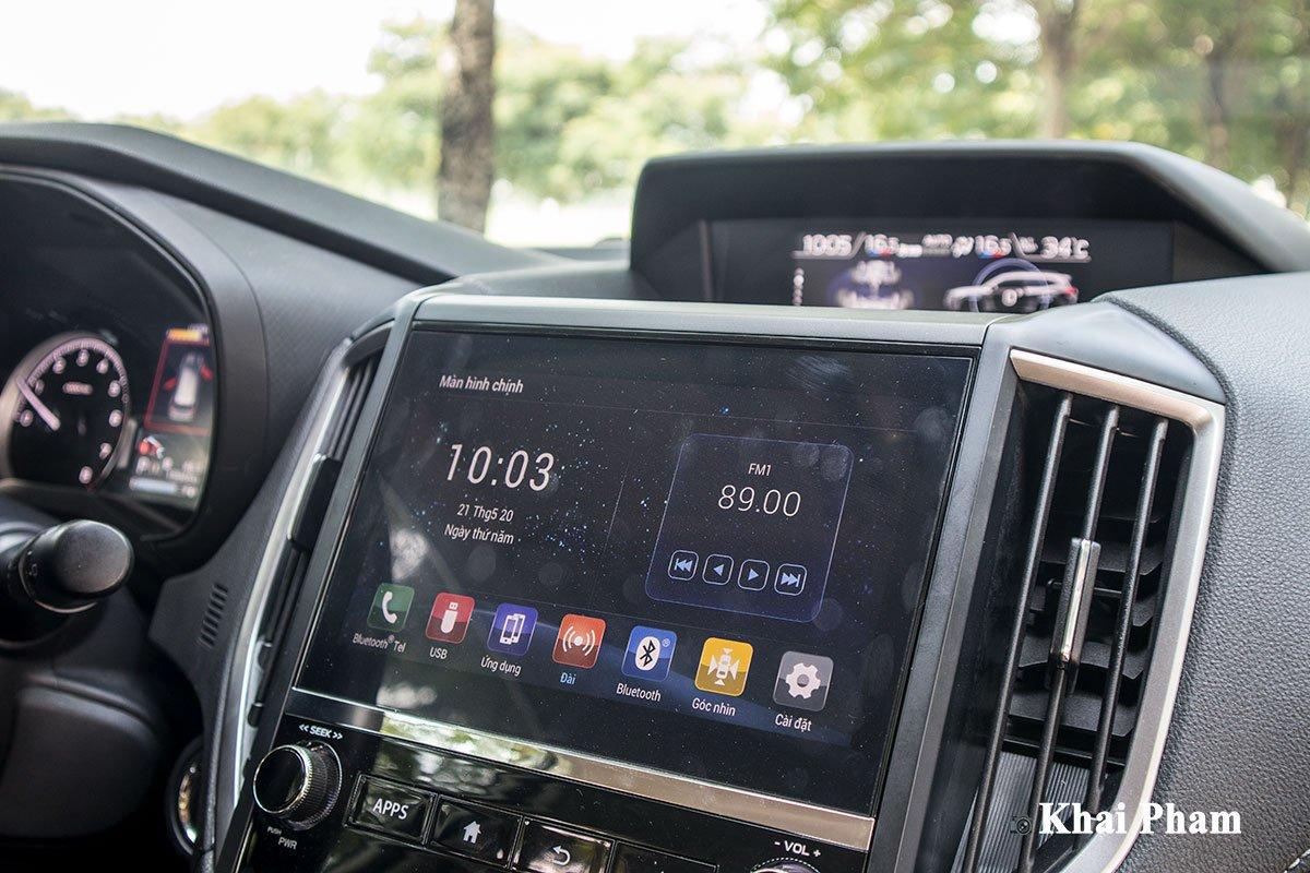 Ảnh màn hình xe Subaru Forester GT Edition 2020
