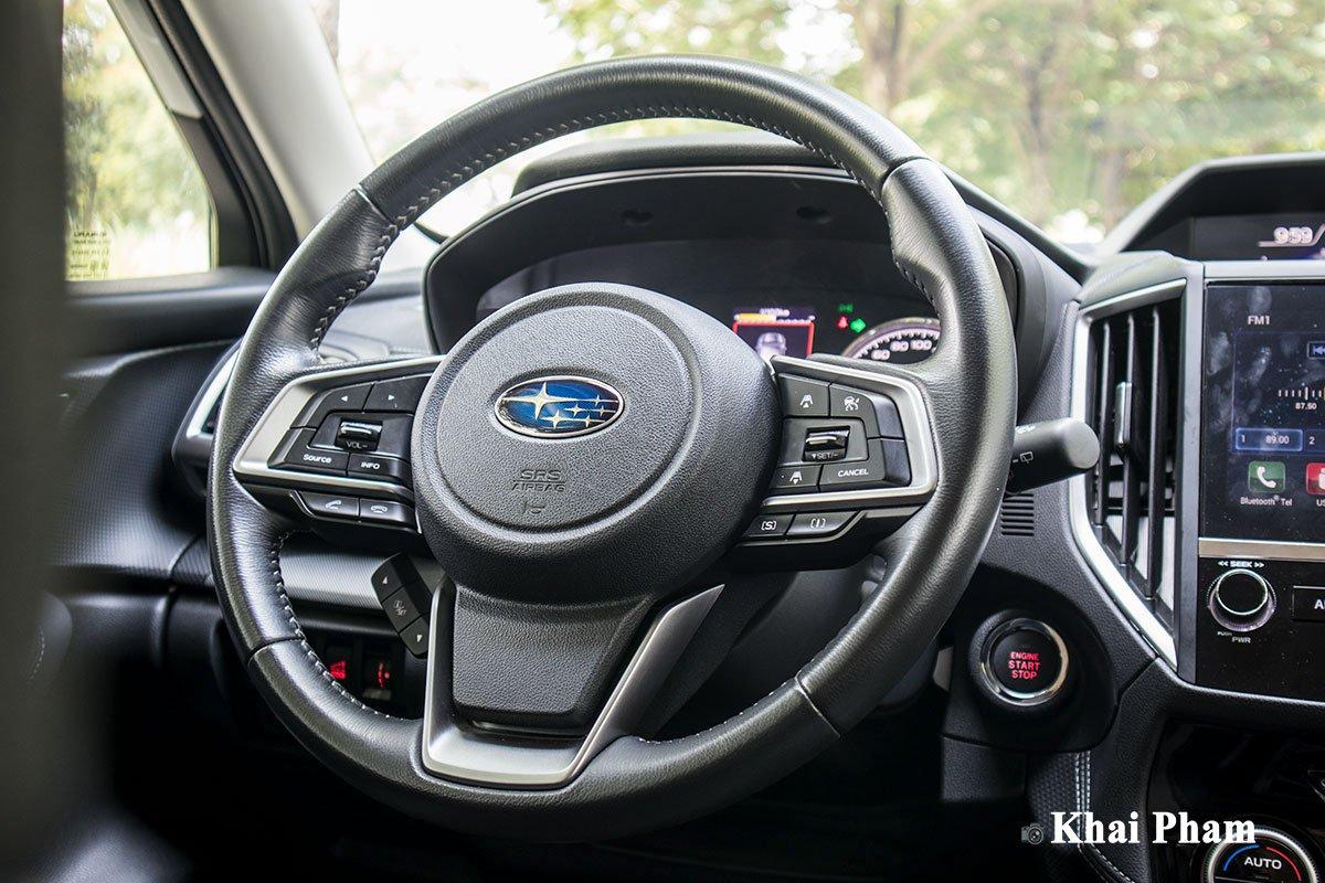 Ảnh chính diện vô-lăng xe Subaru Forester GT Edition 2020