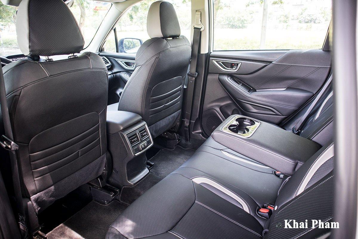 Ảnh ghế sau xe Subaru Forester GT Edition 2020