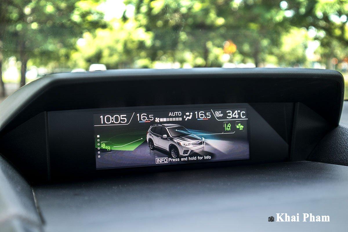 Ảnh màn hình thông số xe Subaru Forester GT Edition 2020