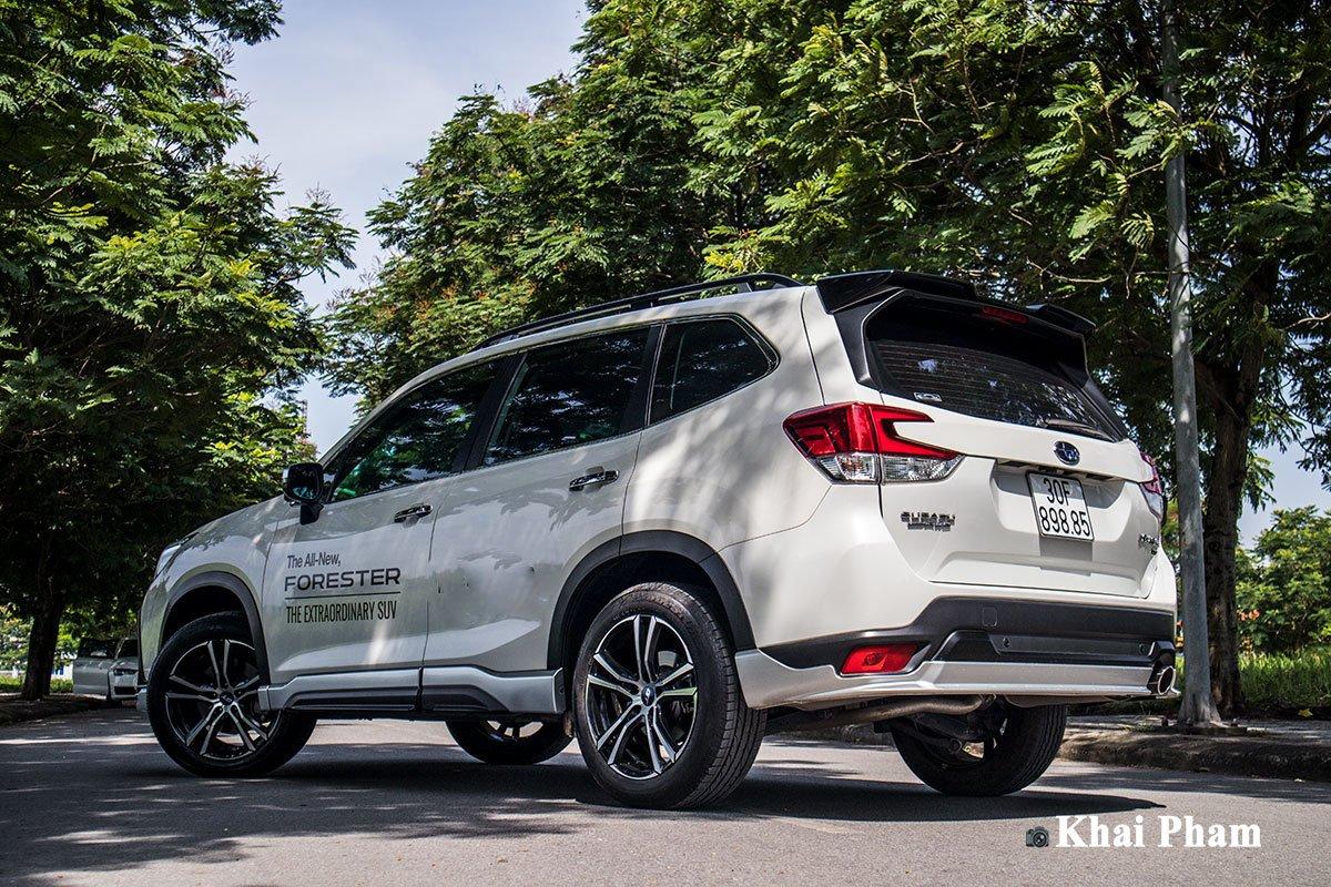 Ảnh sau xe Subaru Forester GT Edition 2020