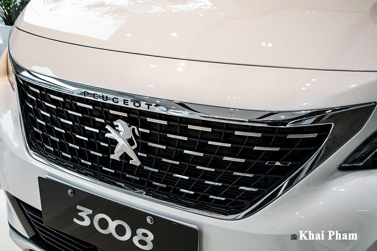 Ảnh lưới tản nhiệt xe Peugeot 3008 2020