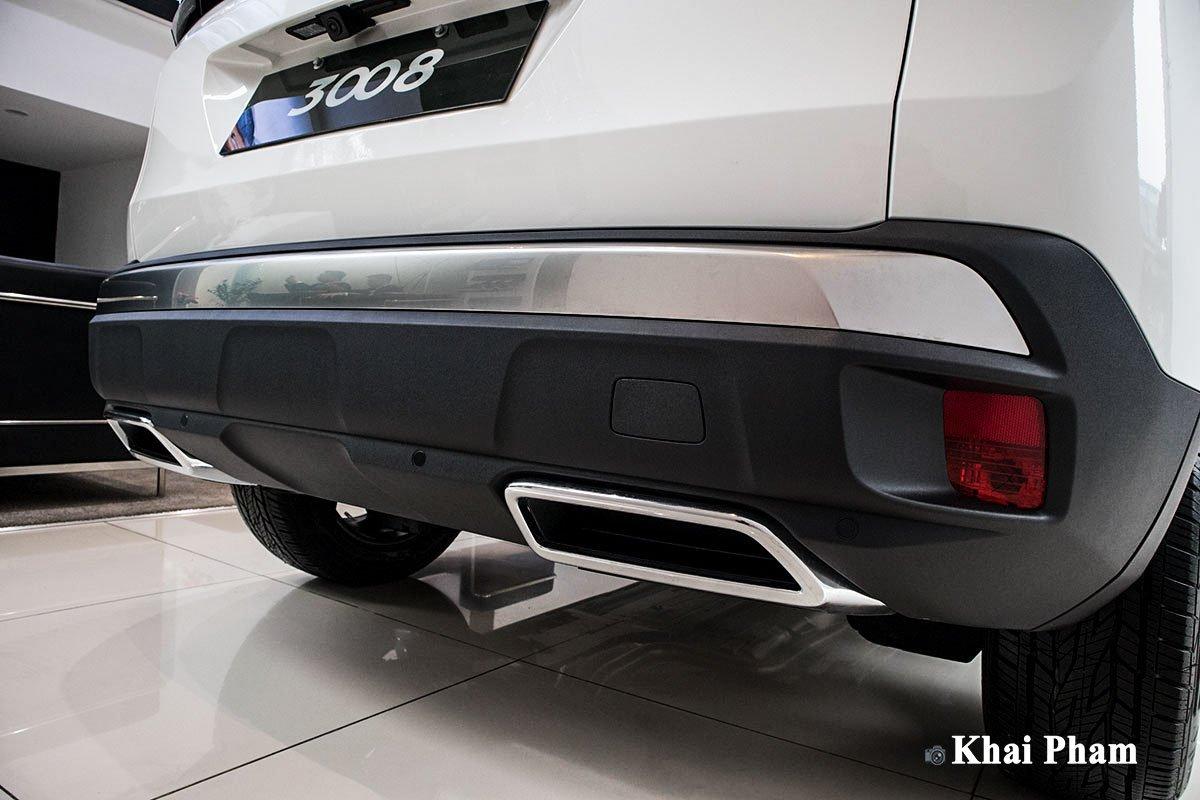 Ảnh Cản sau xe Peugeot 3008 2020