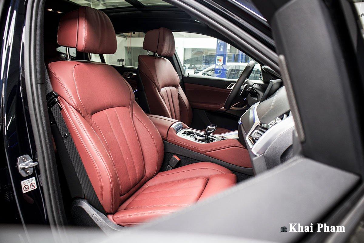 Ảnh ghế phụ xe BMW X6 2020