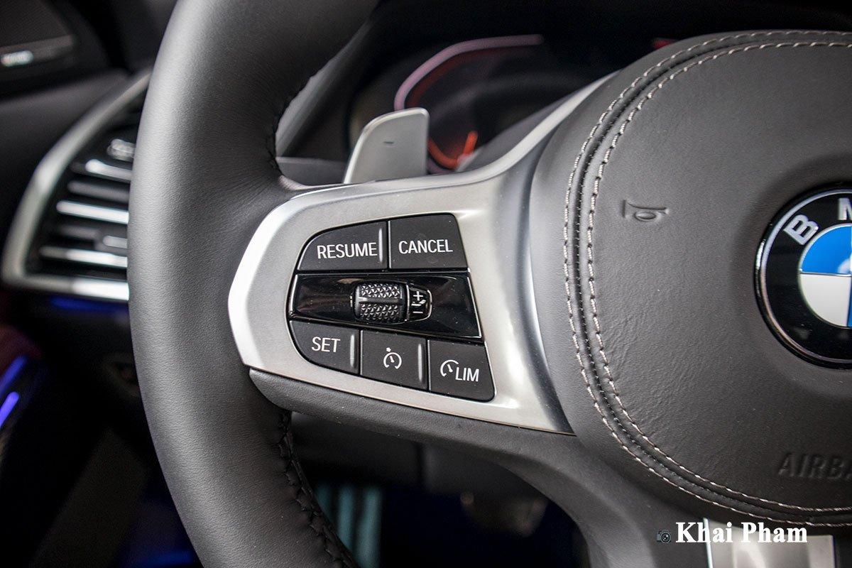 Ảnh nút bấm xe BMW X6 2020