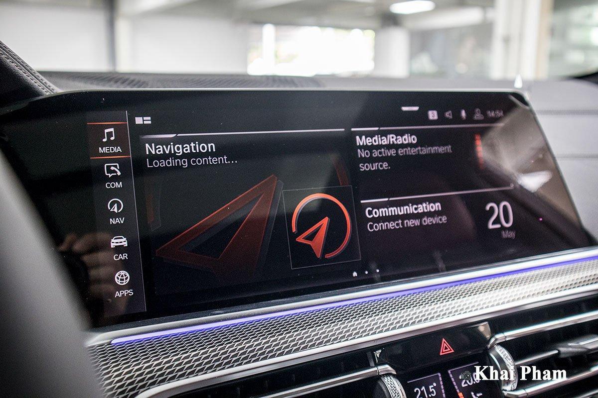 Ảnh màn hình xe BMW X6 2020 a1