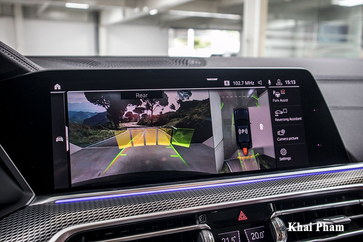 Ảnh camera 360 độ xe BMW X6 2020