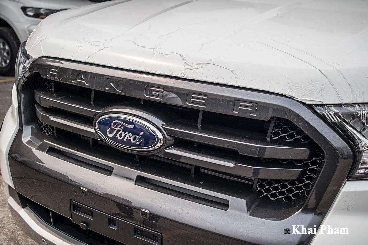 Ảnh Lưới tản nhiệt xe Ford Ranger 2020